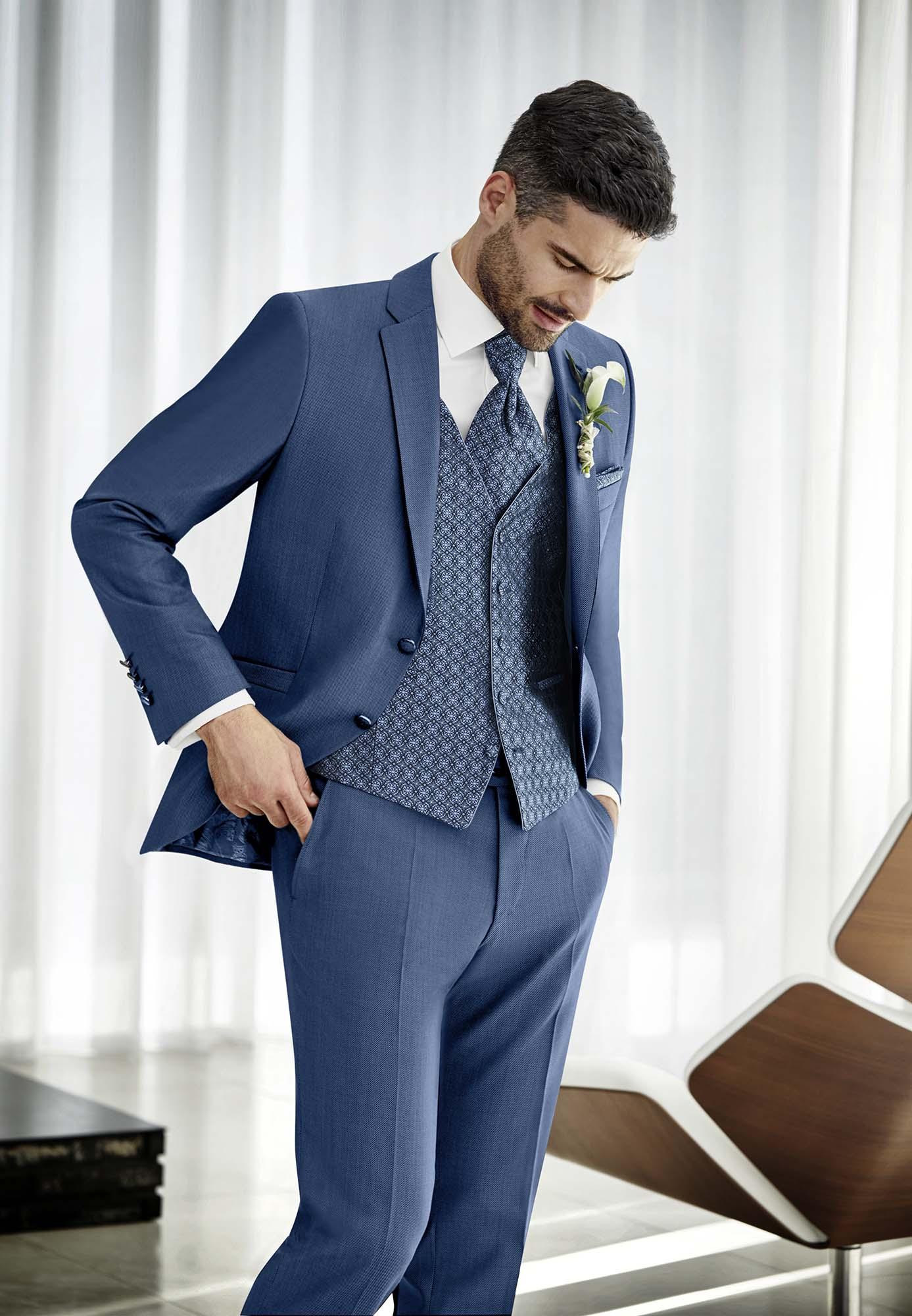 Hochzeitsanzug aus der Prestige Kollektion von WILVORST