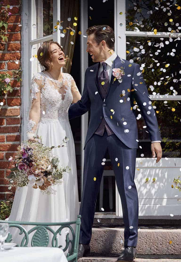 Hochzeitsanzug aus der Kollektion After Six von WILVORST
