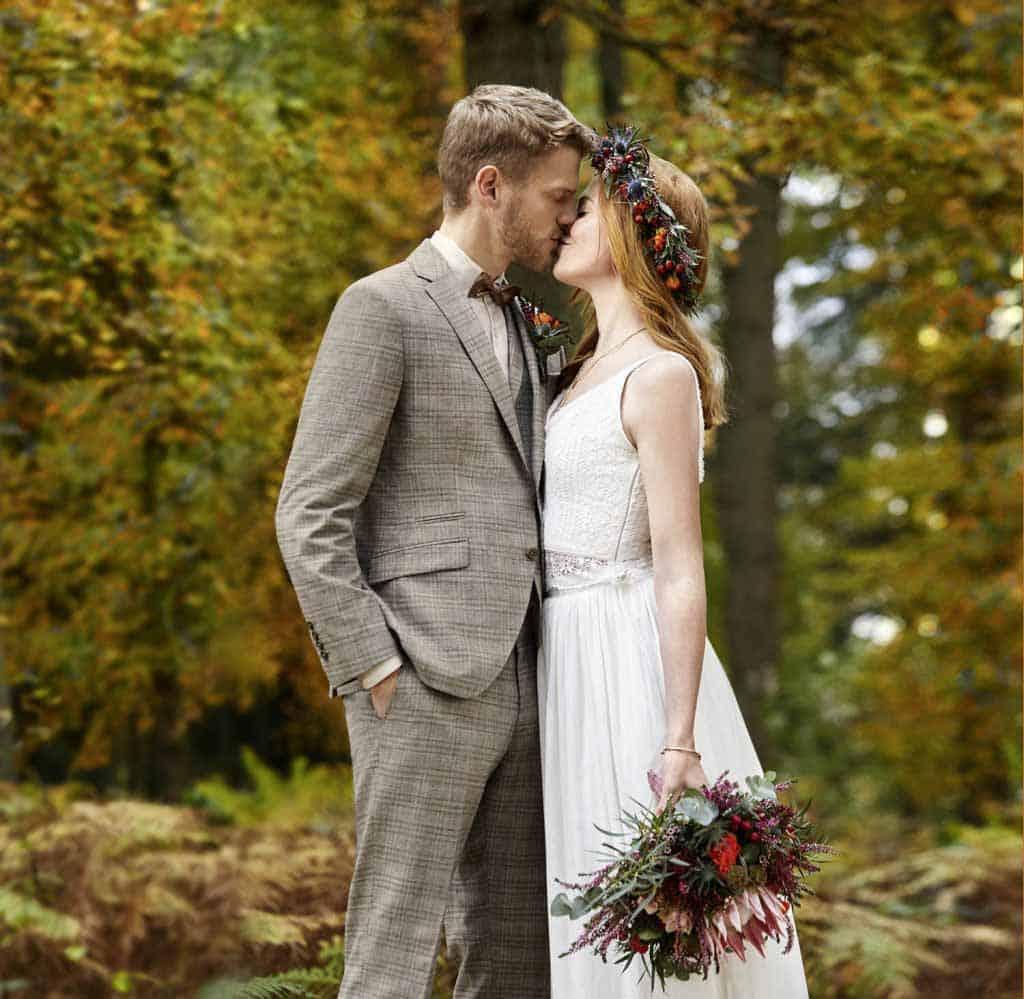 Hochzeitsanzug aus der Kollektion Green Wedding von WILVORST | GRANDITS Hochzeitsmode Wien