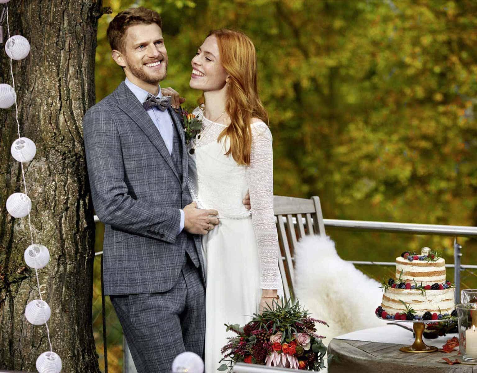 Hochzeitsanzug aus der Kollektion Green Wedding von WILVORST